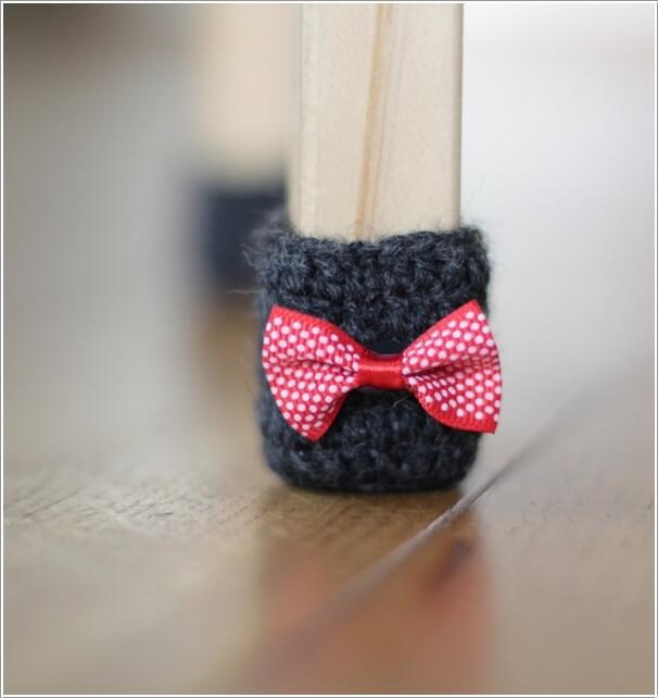 10 Cute Diy Furniture Leg Protector Ideas 6