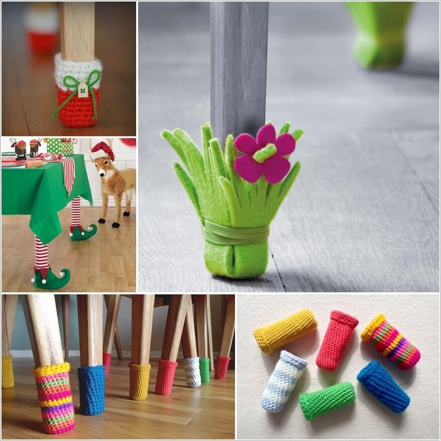 10 Cute Diy Furniture Leg Protector Ideas A