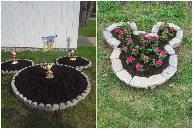 10 Cute Mickey Mouse Garden Decor Ideas 2