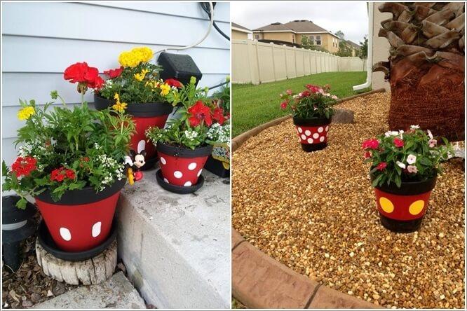 10 Cute Mickey Mouse Garden Decor Ideas 3
