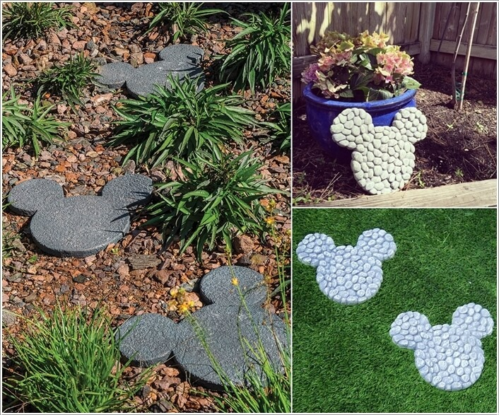 10 Cute Mickey Mouse Garden Decor Ideas 5