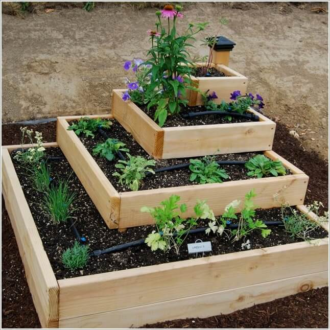 Unique Raised Bed Garden Ideas
