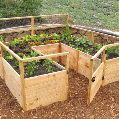 Amazing interior design interior design diy ideas for Unusual raised garden bed designs