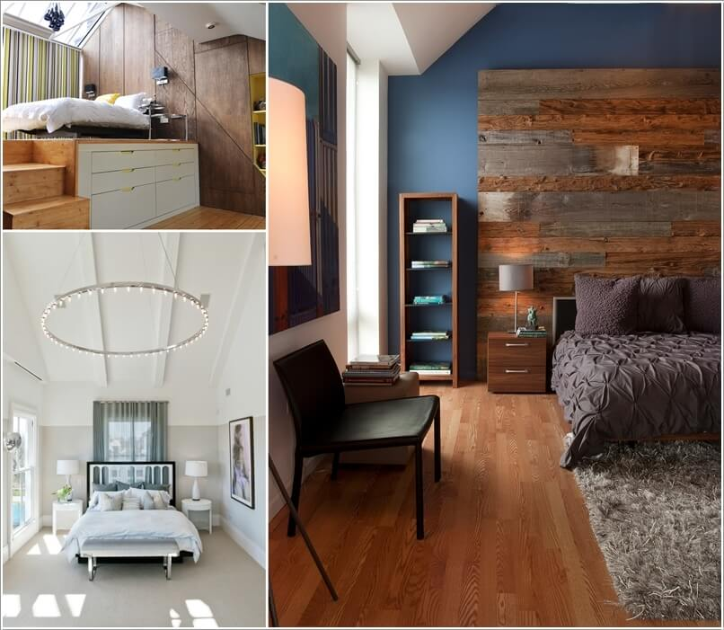 Decorate A High Ceiling Bedroom Effectively