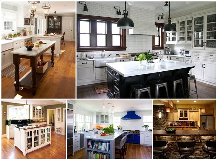 100 Amazing Kitchen Island Designs You Will Admire