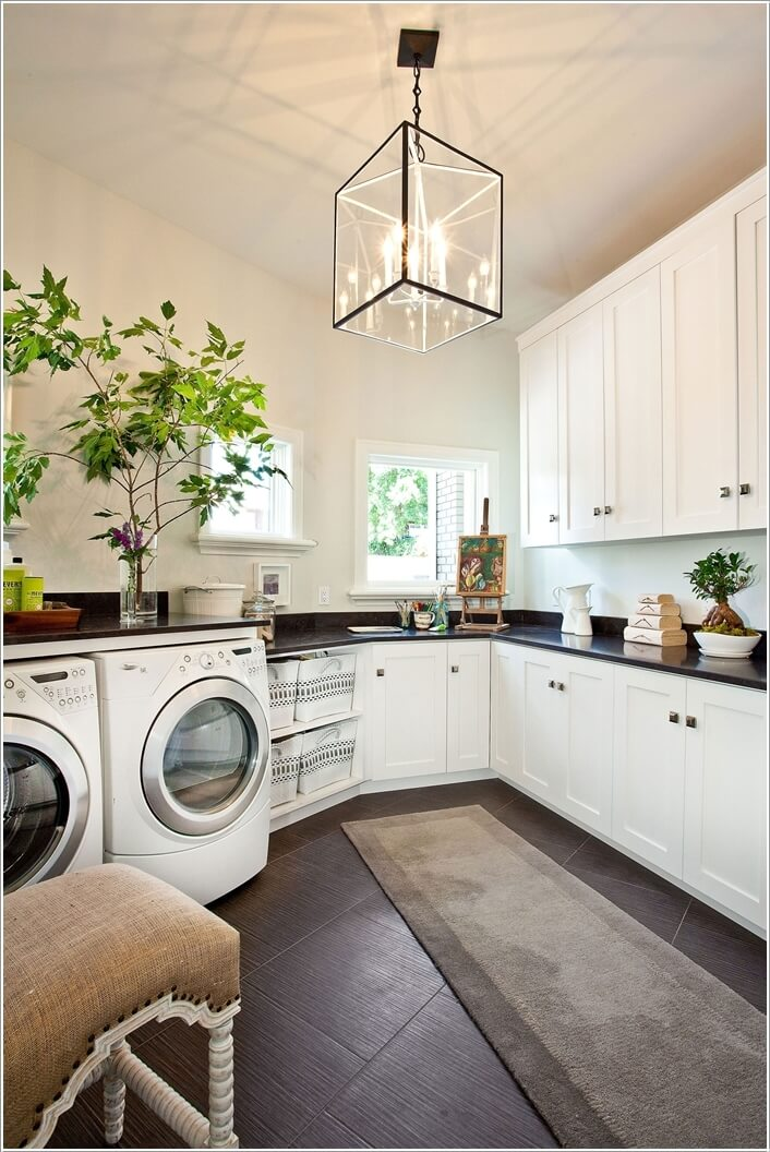 15 interesting features to add to your laundry room for How to add a laundry room to your house
