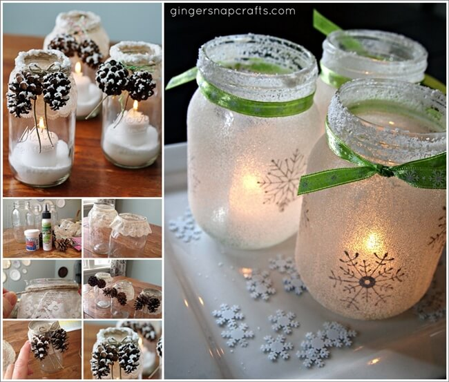 15 mason jar christmas crafts you would love to try
