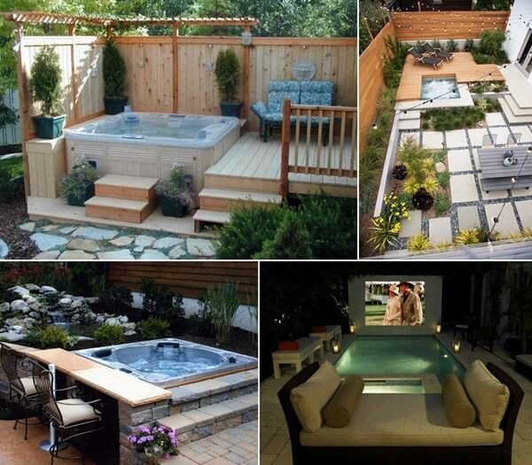 20 relaxing outdoor jacuzzi ideas you will admire