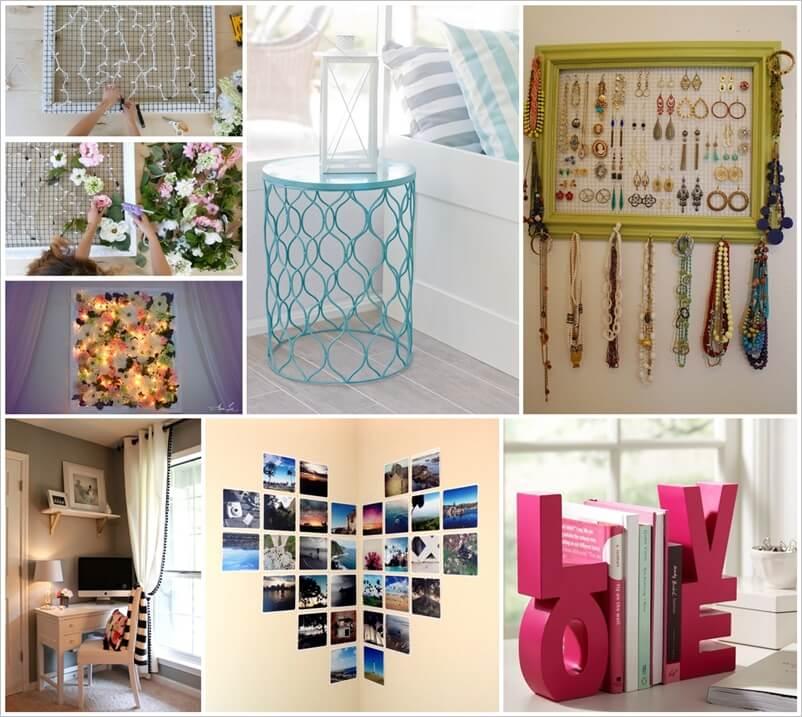 lovely teen girl bedroom idea | 25 Lovely Teenage Girl's Bedroom Decor Ideas