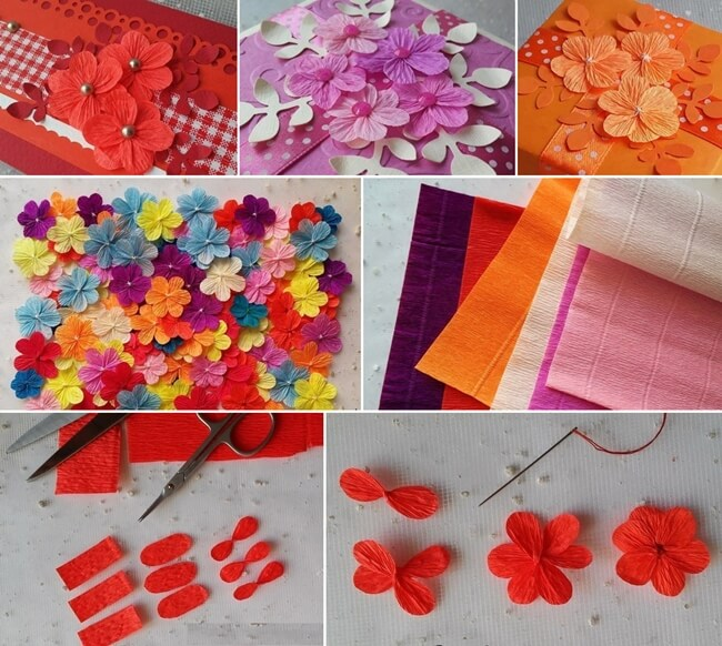 Make these easy and cute crepe paper flowers mightylinksfo