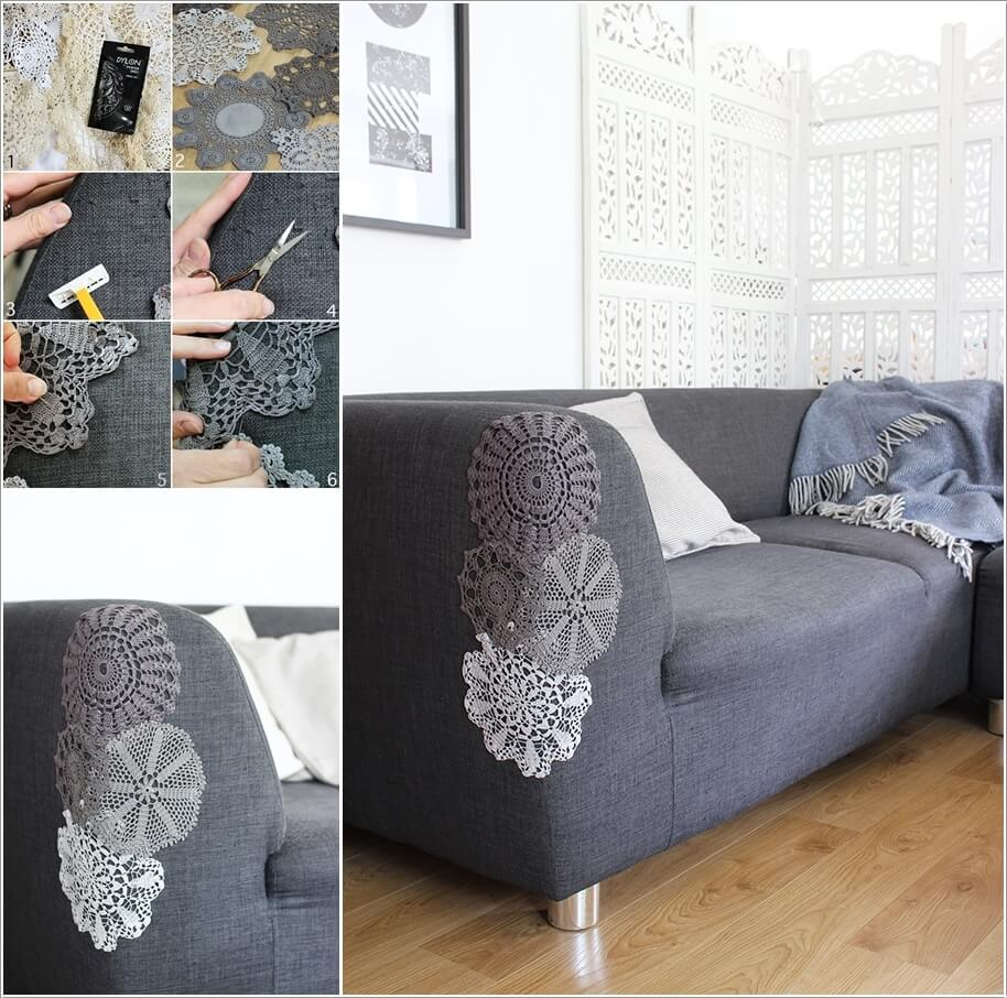 Repair Your Torn Or Cat Scratched Couch In