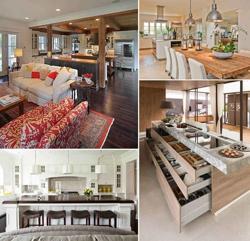 10 Interesting Features To Add To An Open Plan Kitchen