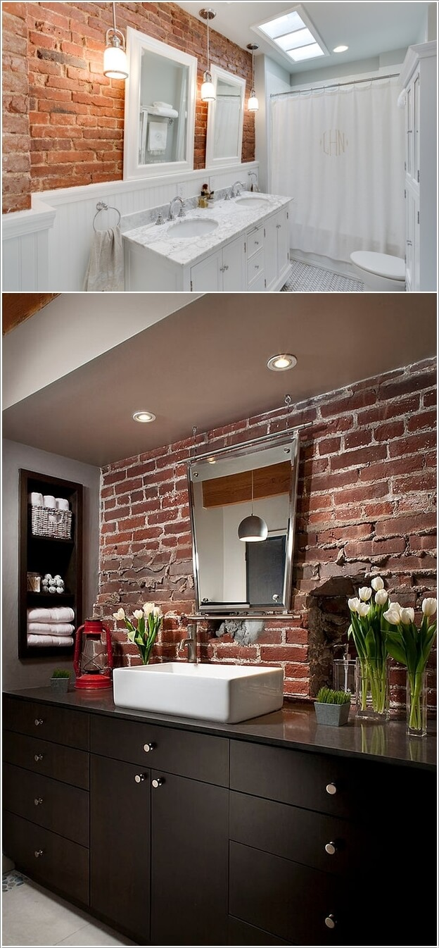 Accent Wall Bathroom 13 Amazing Accent Wall Ideas For Your Bathroom