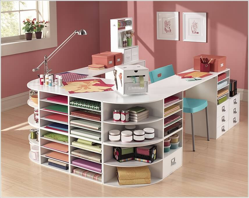 Craft Room Organizer Systems: 13 Clever Craft Room Organization Ideas For DIYers