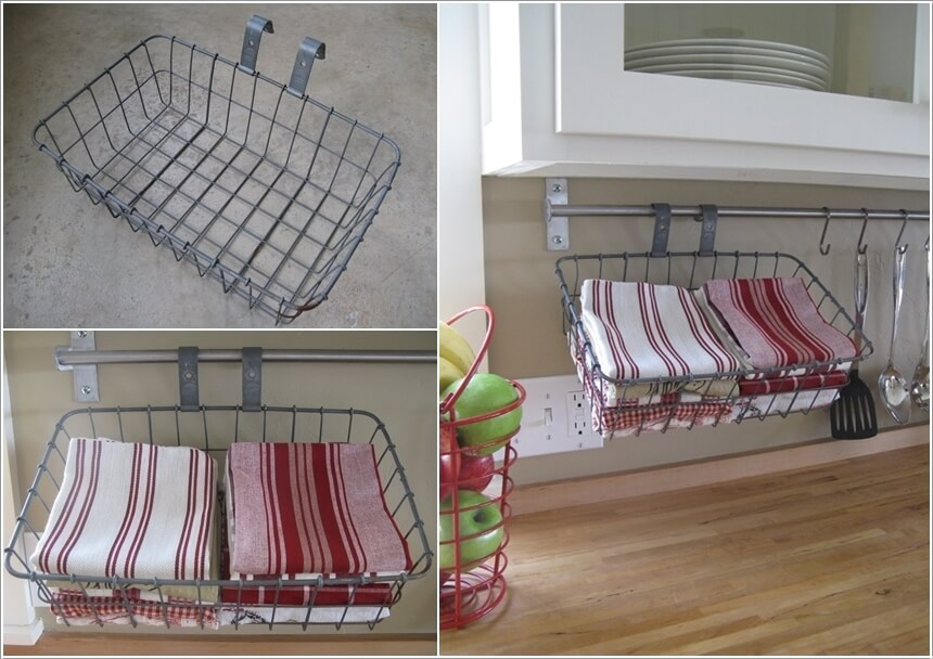 15 clever kitchen towel storage ideas 11 - Towel Storage