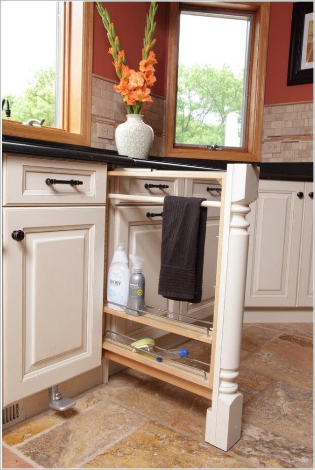 15 Clever Kitchen Towel Storage Ideas 2
