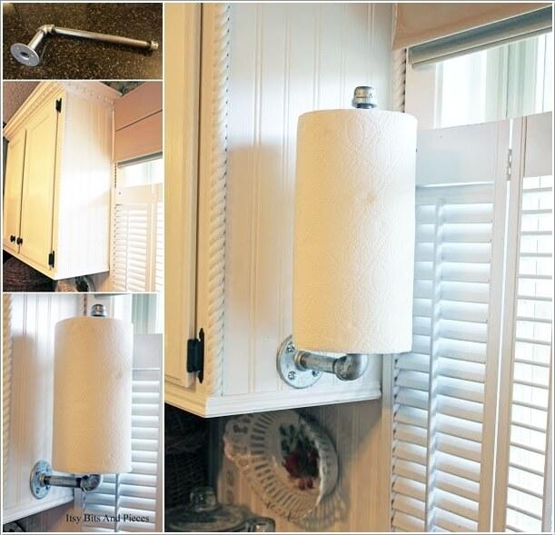 15 Clever Kitchen Towel Storage Ideas 9