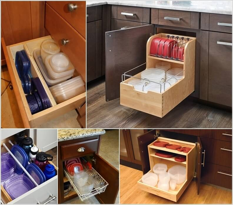 Small Kitchen Storage Cabinet