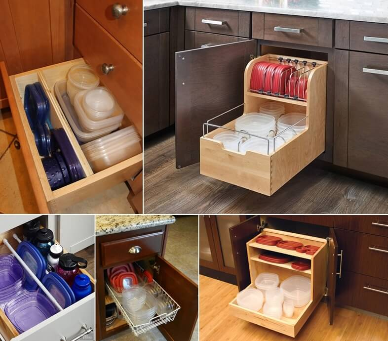 15 clever tupperware storage solutions - Clever storage solutions small spaces style ...