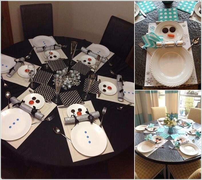 15 Creative Christmas Table Decoration Ideas