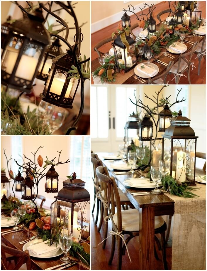 15 Creative Christmas Table Decoration Ideas 9