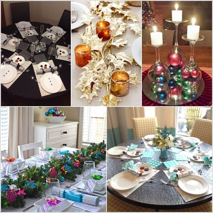 Christmas Table Decoration Ideas.15 Creative Christmas Table Decoration Ideas