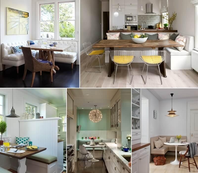 18 Cozy Kitchen Banquette Designs You Will Admire