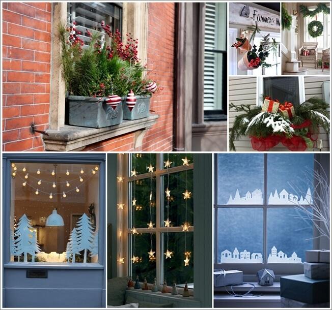 70 superb christmas window decor ideas - Superb modern christmas decor ideas ...