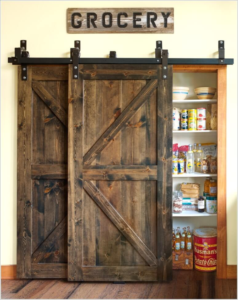 add a vintage feel to your home with recycled barn doors. Black Bedroom Furniture Sets. Home Design Ideas