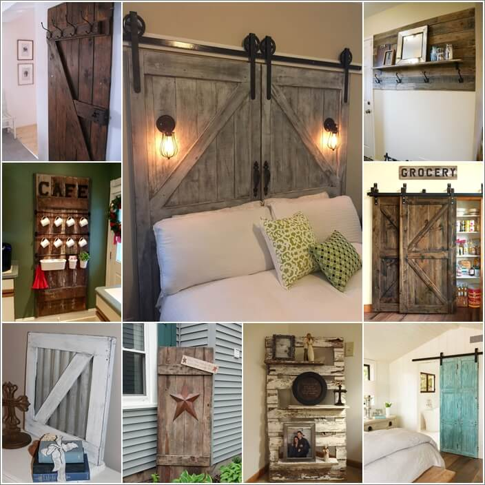 Add A Vintage Feel To Your Home With Recycled Barn Doors
