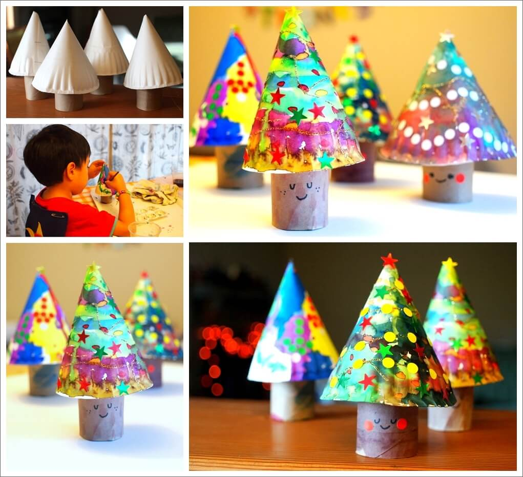 these-paper-plate-christmas-trees-are-simply-adorable-1
