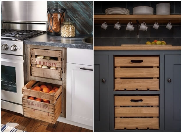 Image via fresh design pedia  apartment therapy & 10 Amazing DIY Produce Storage Ideas for Your Kitchen