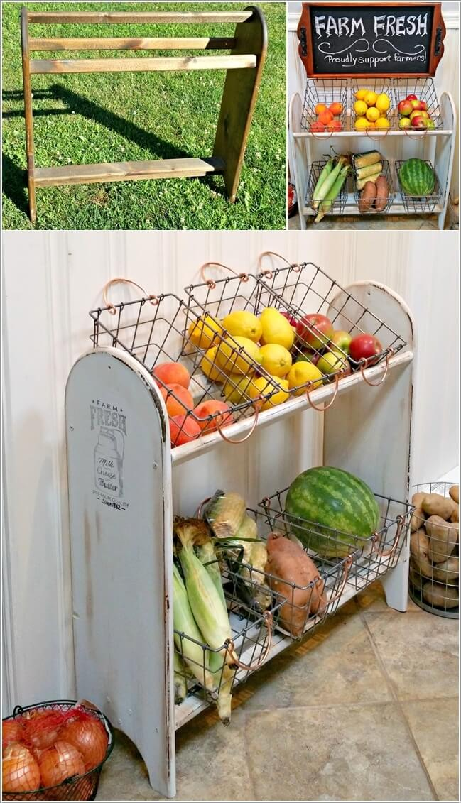 storage ideas kitchen innovative diy organization keep produce your rack