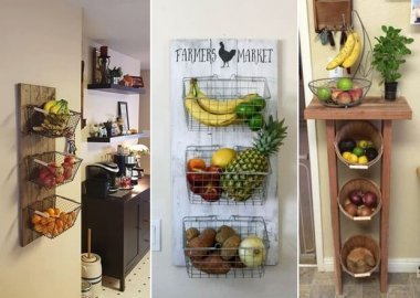 10 Amazing DIY Produce Storage Ideas for Your Kitchen fi