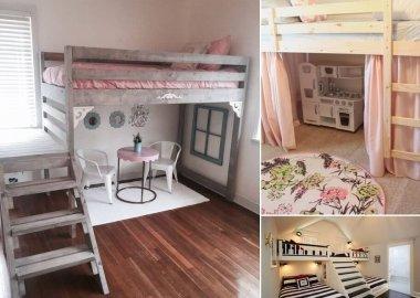 10 Creative Ways to Decorate Under a Loft Bed fi
