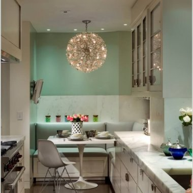 10 Stylish Ways to Add a Dining Area to Your Kitchen 5
