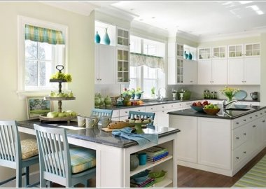 10 Stylish Ways to Add a Dining Area to Your Kitchen 9