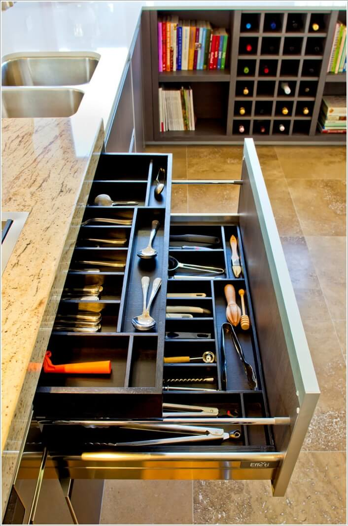 15 Must Have Drawers For A Clutter Free Kitchen