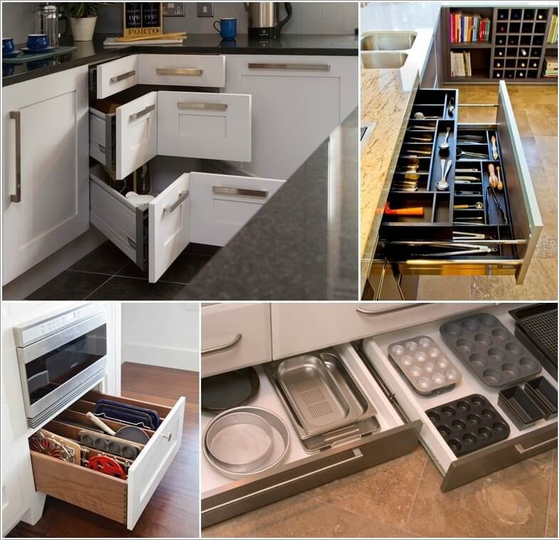 15 Must-Have Drawers For A Clutter-Free Kitchen