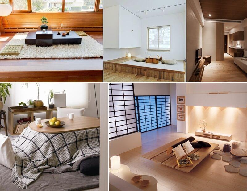 26 Calming Japanese Living Room Decor Ideas