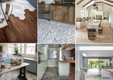 30 Wonderful Kitchen Flooring Ideas You Will Admire a