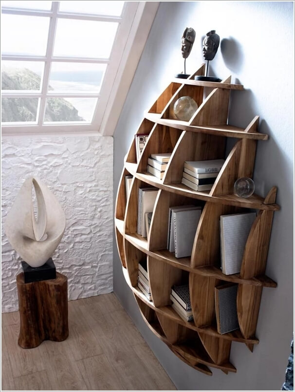 Purchase a Cool Spherical Shelf Like This One
