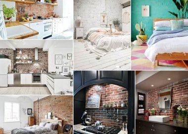 These Brick Accent Walls will Leave You Inspired fi