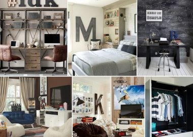 Wonderful Ideas for Decor and Organization of a Teen Boy Room fi