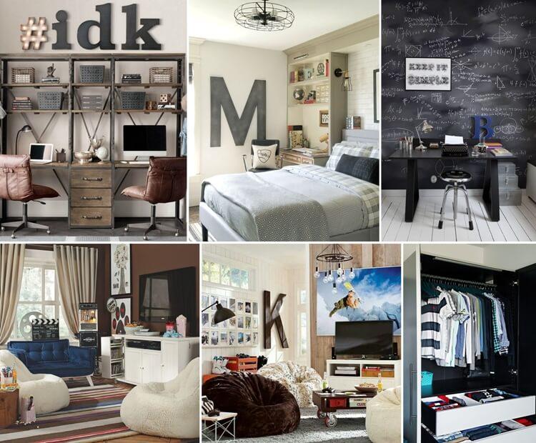 Wonderful Ideas For Decor And Organization Of A Teen Boy Room