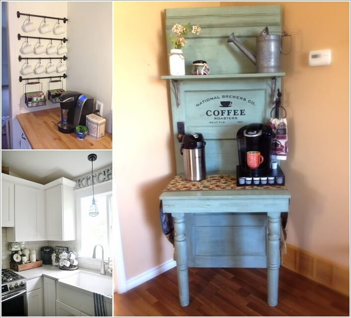 Excellent 10 Corner Coffee Bar Ideas You Will Admire AW76
