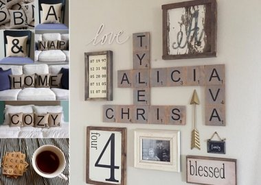 10 Creative Scrabble Inspired Home Decor Ideas fi