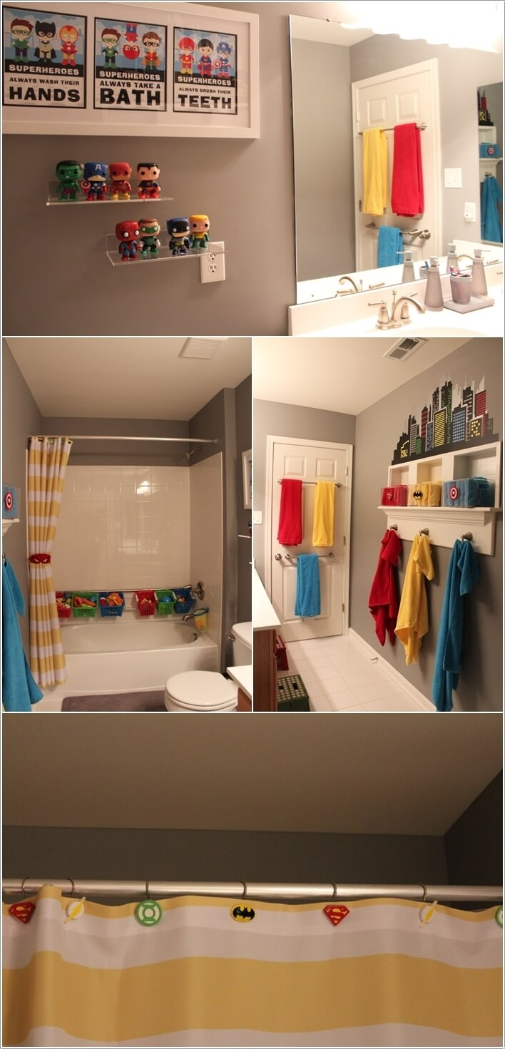 10 cute and creative ideas for a kids bathroom 10 cute kids bathroom decorating ideas digsdigs