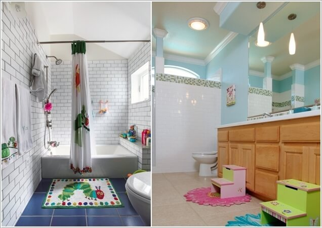 Http Www Amazinginteriordesign Com 10 Cute Creative Ideas Kids Bathroom