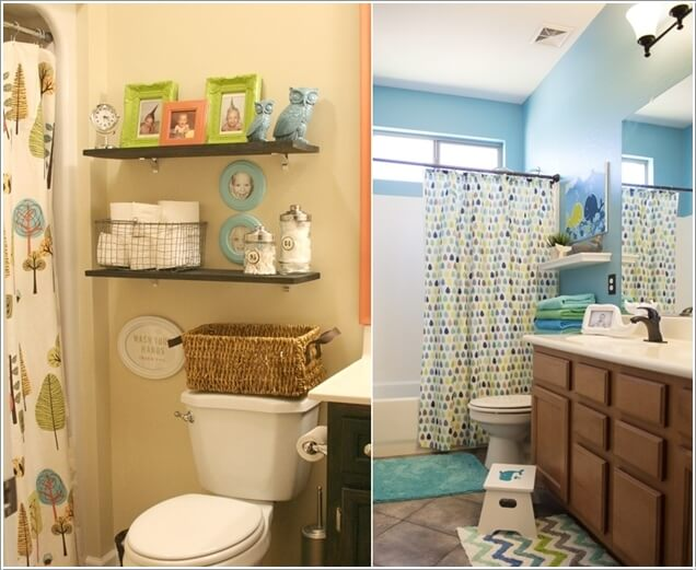 10 cute and creative ideas for a kids 39 bathroom for Bathroom knick knacks